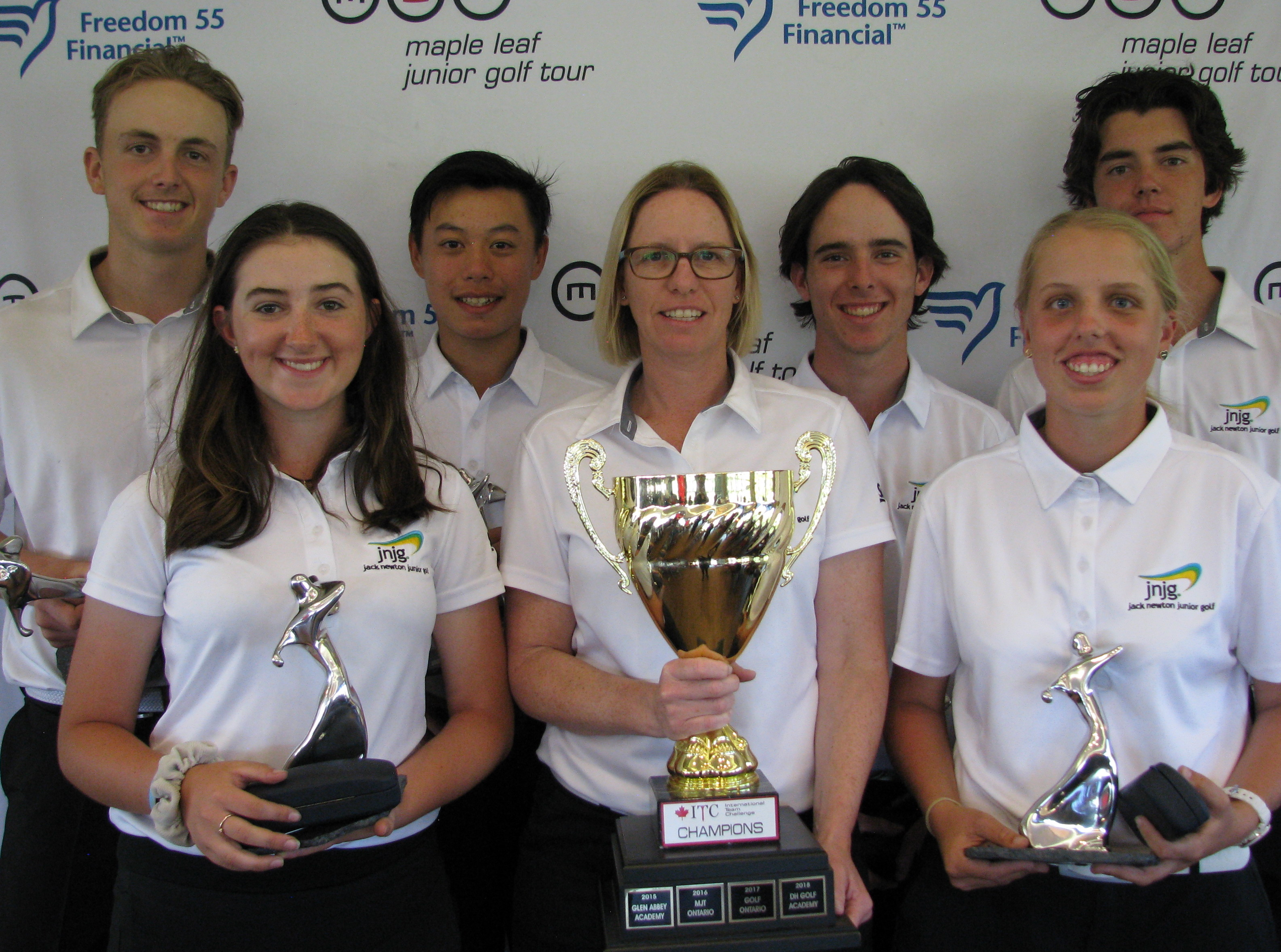 Jnjg Team Come Out On Top In Canada News Jack Newton Junior Golf
