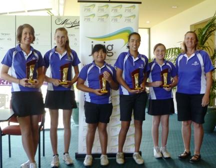 Oatland's Golf Club win girls Encourage Shield